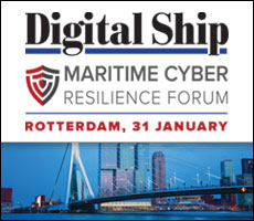 Digital Ship Maritime Cyber Resilience Forum Rotterdam, 31 January