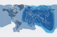 Global Ku-band VSAT connectivity will be supplemented by regional Thuraya L-band coverage as a backup across Europe, Africa, the Middle East and Asia