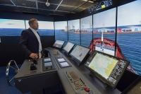 The Wärtsilä navigation simulator is an essential enabler in the ISTLAB project aimed at creating a testing environment for smart autonomous vessels. Image Courtesy of Wartsila.