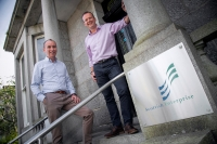 Left to right: Kevin Moran, managing director at Tymor Marine and Chris Cooper, account manager at Scottish Enterprise