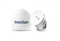 Intellian's v45C antenna offers a compact VSAT solution for space-limited installations