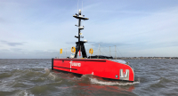 Sea-Kit X class 12-metre USV built in 2020 for Fugro. Image courtesy of Sea-Kit International.