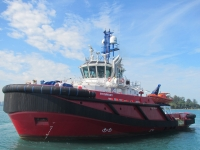 RT Kuri Bay - one of the three vessels used by KOTUG to serve the Shell Prelude facility