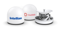 Intellian will manufacture a range of antennas for OneWeb's constellation of LEO satellites. Image Courtesy of Intellian.