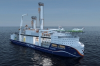 The Proxima drillship designed by Fincantieri Offshore