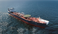 The Arctic shuttle tanker Mikhail Ulyanov will be one of the first vessels to receive the maritime VSAT solution
