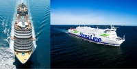 Both MSC ships (left) and Stena Line vessels (right) will benefit from higher bandwidth availability following the new deals