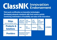 ClassNK 'Innovation Endorsement' overview. Image courtesy of ClassNK.