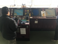 Cyber security testing was carried out on board the Zim Genova while at sea