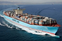 Maersk will join CMA CGM and MSC as a key shareholder and customer of Traxens. Image courtesy of Maersk