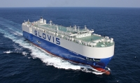 The Glovis Challenge, the 6,500 car/truck carrier, was installed with the smart ship system