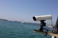 The LADAR system uses narrow laser beam scans, providing a full 3D perspective, accurate and real-time surveillance of the ocean including the problematic ocean surface layer.