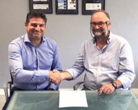 The agreement was signed on May 8, 2019 by Roger Horner and Ioannis Papaefthymiou.